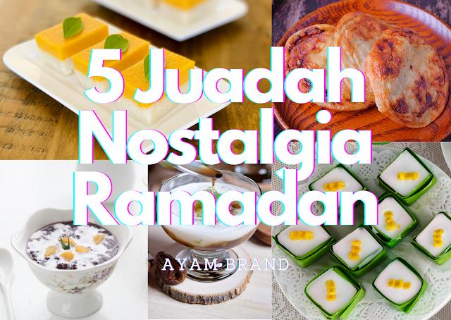 5 Juadah Nostalgia Ramadan yang Mudah dan Lebih Sihat dari Ayam Brand