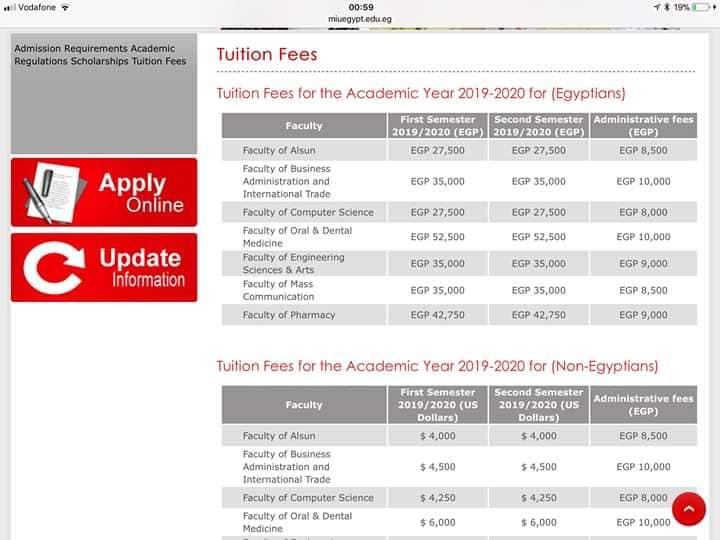 أسعار صيدلة في الجامعات الخاصة للعام الدراسي الجديد ٢٠١٩ /٢٠٢٠ 0%2B%25282%2529