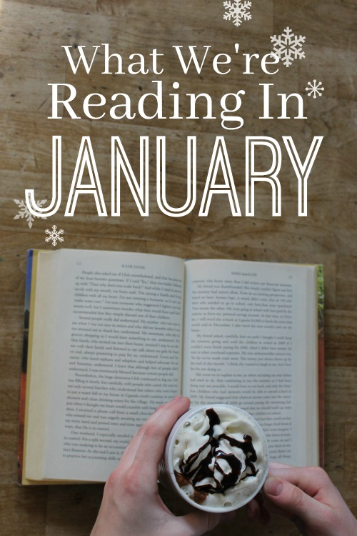 What a #homeschool family of 7 is reading in January