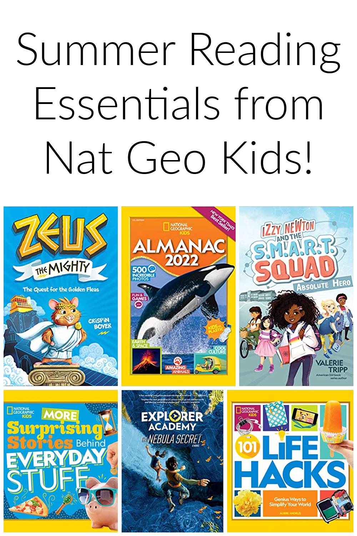 Summer Reading Essentials from Nat Geo Kids Books!