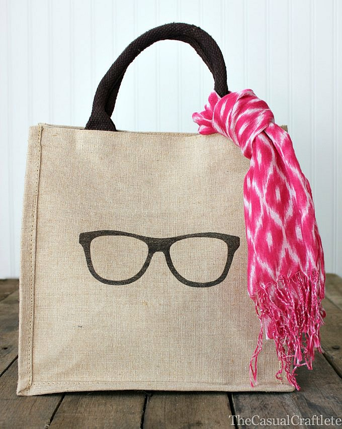 2+Burlap Bag with iron on transfer1 12 Gifts for Gals 28