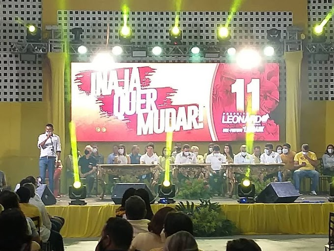 Lafrank será o candidato á vice prefeito de Leonardo Martins na disputa eleitoral em Inajá