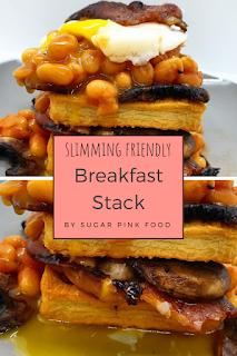 Slimming breakfast stack recipe