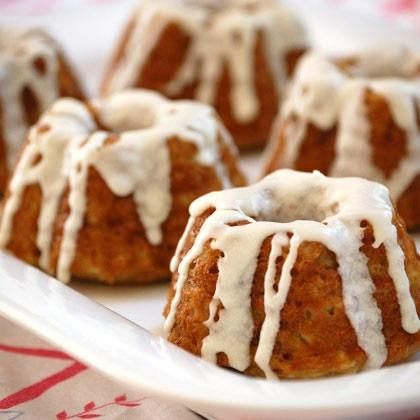 Apple Spice Cupcakes with Cider Icing