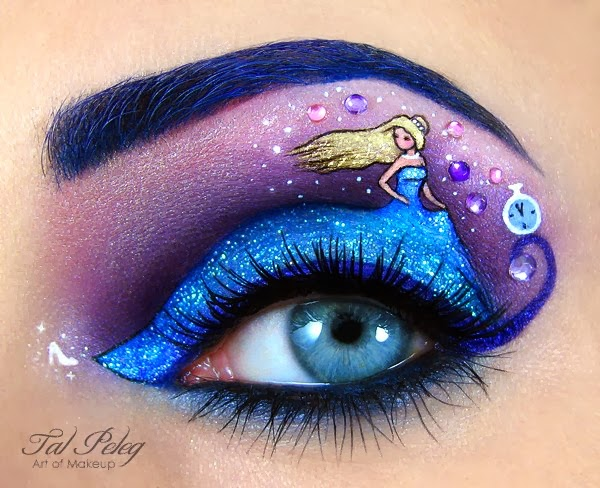 Eye-Makeup Illustrations by Tal Peleg 6