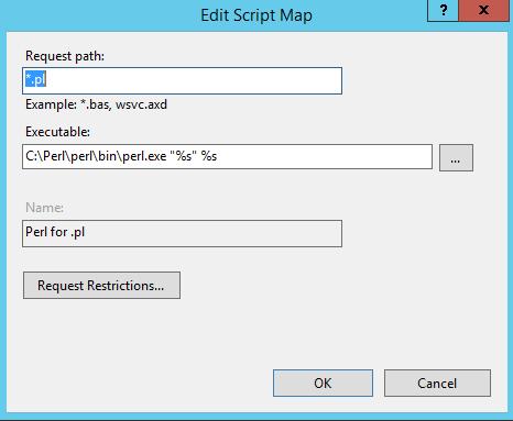 Installing Perl on Windows 2012r2 IIS 8 5   David's World