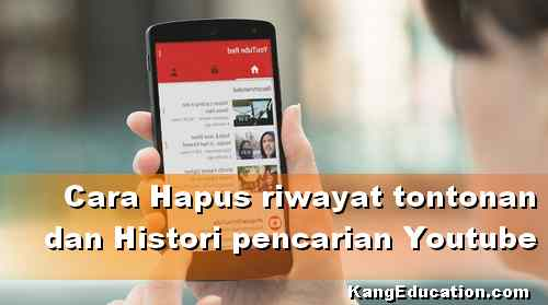 Cara Hapus Riwayat Tontonan Youtube di HP Android