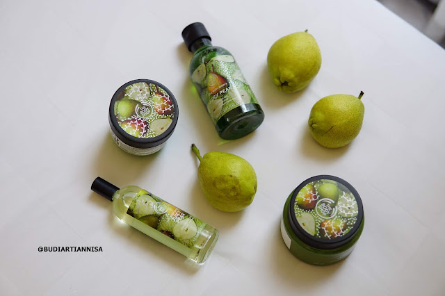 JUICY PEAR THE BODY SHOP