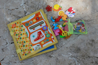 Spelling playmat quiet book busy book fabric book by TomToy
