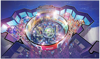 Epcot Experience Preview Center Odyssey Concept Art