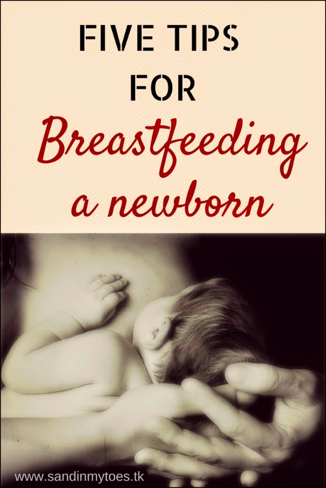 Five essential tips for breastfeeding a newborn baby