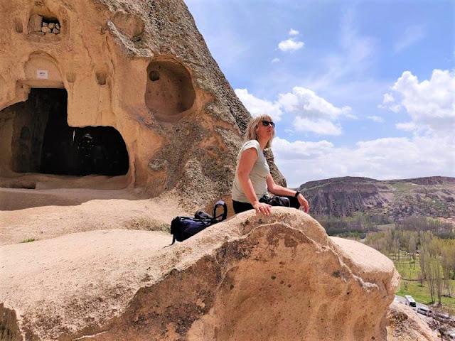 monastero selime con vista panoramica