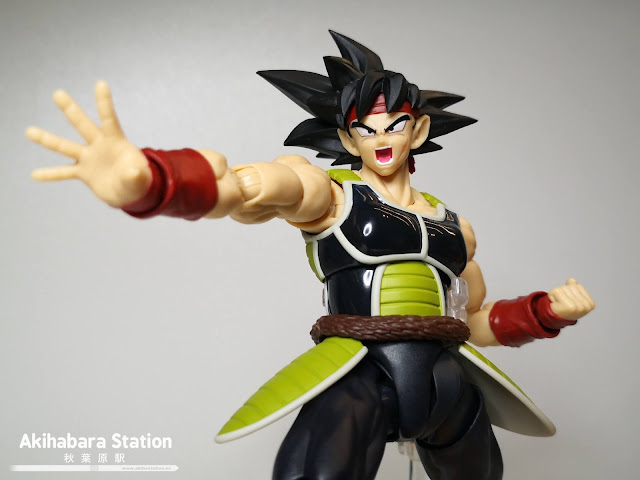 Review de S.H.Figuarts Bardock de Dragon Ball Z - Tamashii Nations