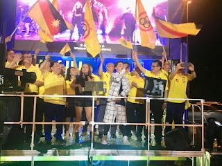 #PRU14 : Naga Bakal Bertemu Naga Di Parlimen Stampin