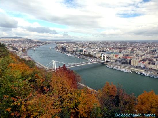 Vistas del Danubio desde la colina Gellert