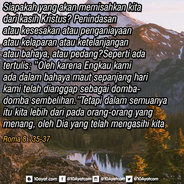 Roma 8 : 35-37