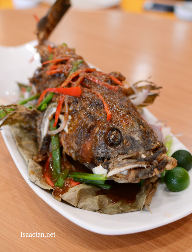 Signature Fried Grouper - RM78, 1.2kg