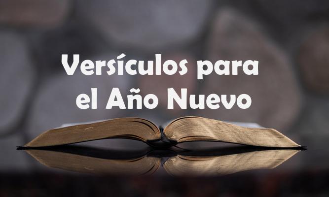 Versículos Bíblicos para el Año Nuevo