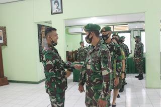 Pelepasan Kasdim 0719/Jepara Mayor Inf Muhammad Nurul Chabibi, SH