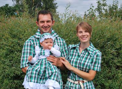рубашки family look