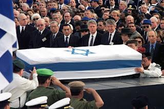 Yitzhak Rabin funeral