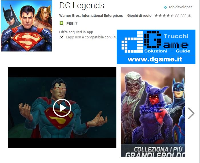 Trucchi DC Legends Mod Apk Android v1.8.2