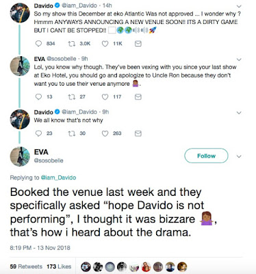 Eko Atlantic Releases Statement On Allegations By Davido: Singer Reacts