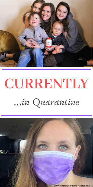 Currently in Quarantine. What My Big Family is Eating, Wearing, Reading, Writing, Watching, Organizing, and more!