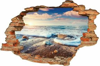 Gambar tembok jebol 3 dimensi