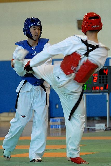 Taekwondo Wettkampf, Techniken