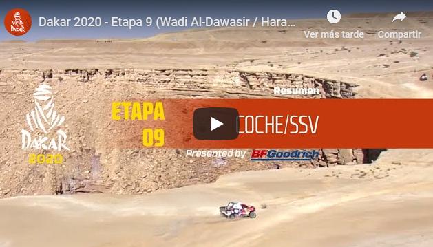 Dakar 2020: Etapa 9 - Las mejores imágenes