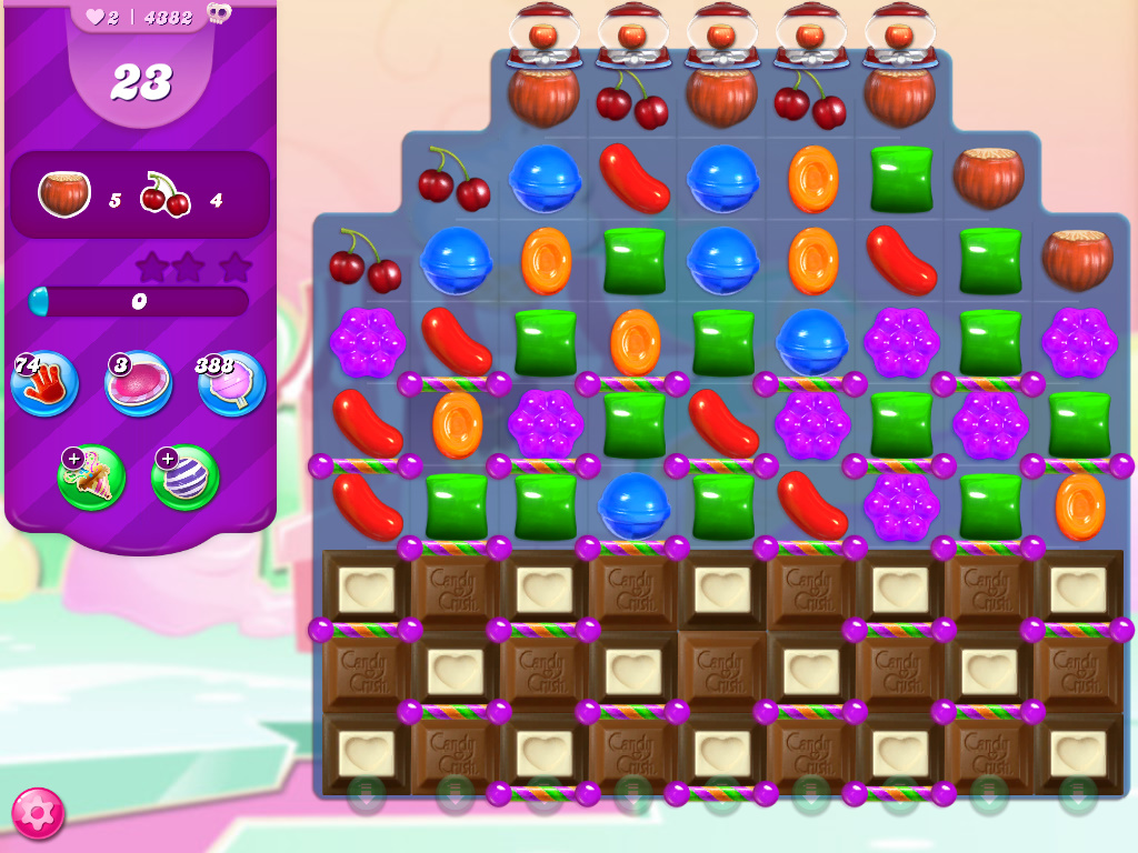 Candy Crush Saga level 4382