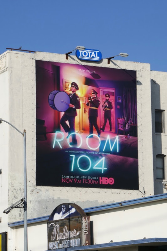 Room 104 season 2 billboard