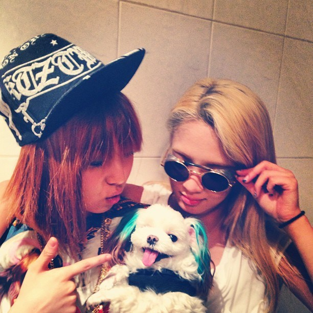 [Pictures] 130511 Sunny and Hyoyeon with miss A's Min and ...  [Pictures] 1305...