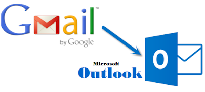 use outlook with gmail