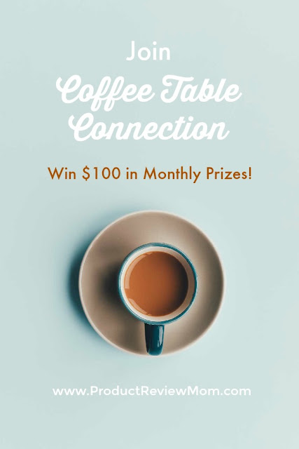 Join Coffee Table Connection: Win $100 in Monthly Prizes!  via  www.productreviewmom.com