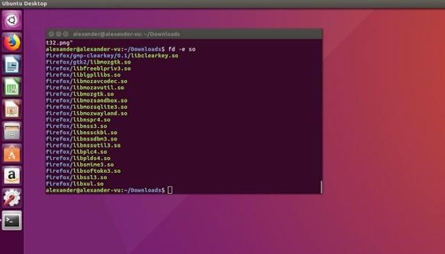 استخدم Fd على Linux Macos Hero