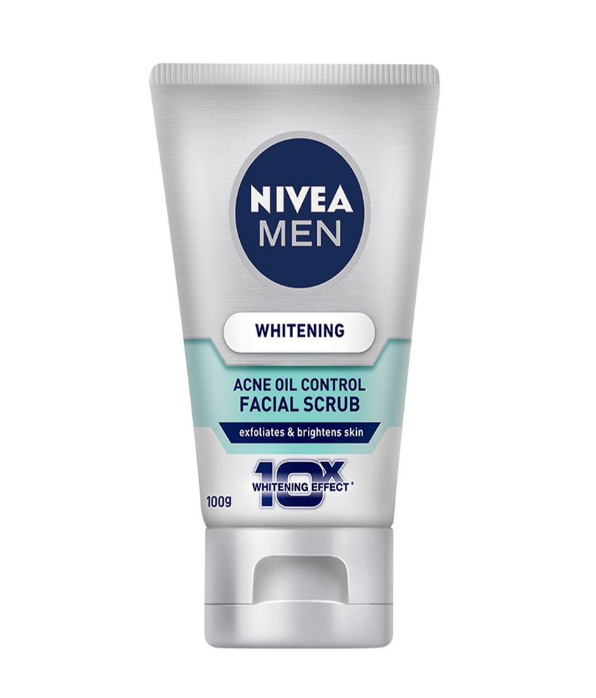 Nivea Men Whitening Oil Control Facial Scrub 100 G