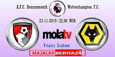 Prediksi AFC Bournemouth vs Wolverhampton — 23 November 2019
