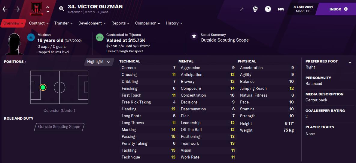 Victor Guzman FM22