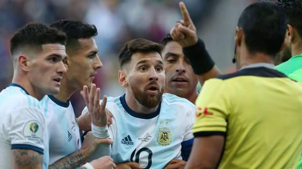 L.Messi Returns for Argentina Ahead of Brazil Match*