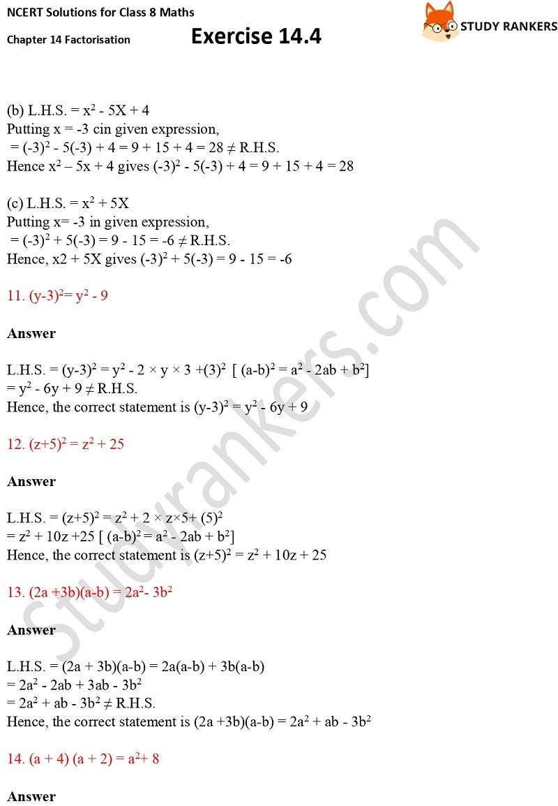 NCERT Solutions for Class 8 Maths Ch 14 Factorization Exercise 14.4 3