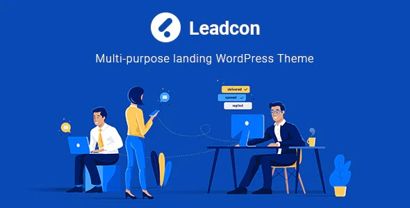 Multipurpose Landing WordPress Theme