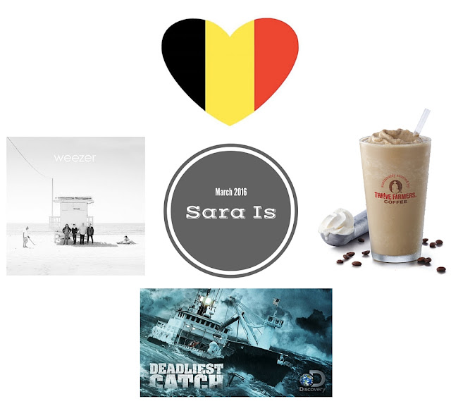 Sara is: March 2016