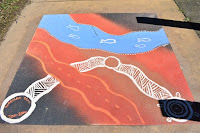 Albury Street Art | Aboriginal inspired murals