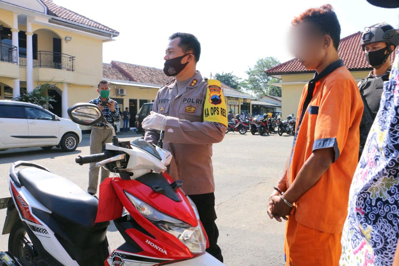 Belum Kapok, Pemuda Asal Puring ini Ditangkap Polisi Kedelapan Kalinya