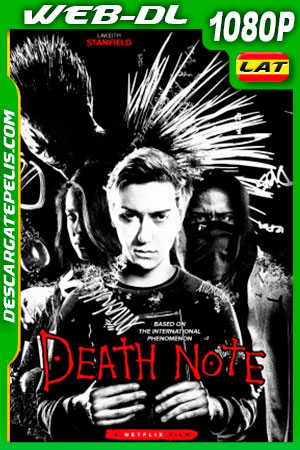 Death Note (2017) HD 1080p WEB-DL Latino – Ingles