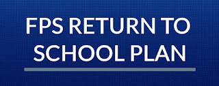 Franklin Public Schools: Re-opening plan web page