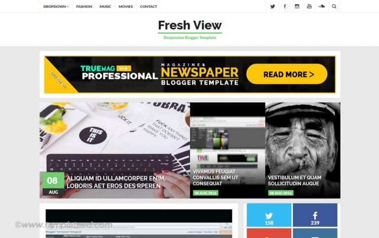 500+ Best Free Responsive Blogger Templates 2020
