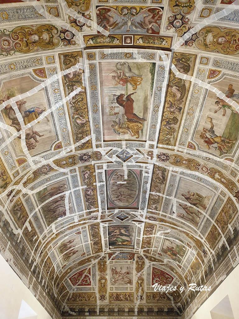 Techos del castillo d'Este de Ferrara